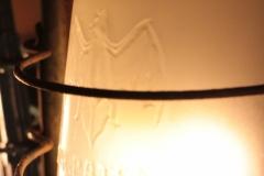 Originalglas der Marke 'Fledermaus'