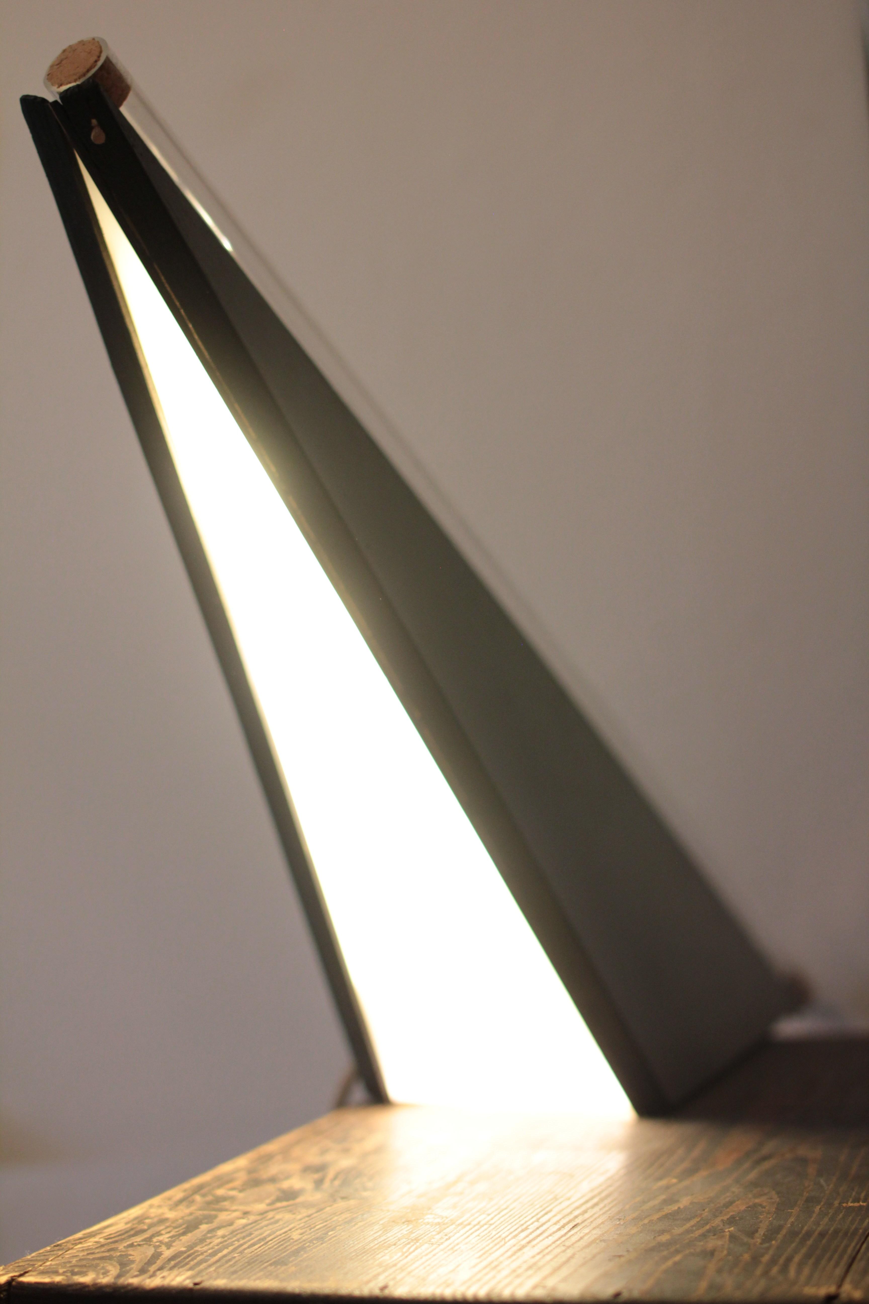geometrisches Leuchtobjekt